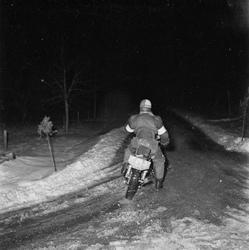 Motorcykeltävling, SMK, Uppsala 1952