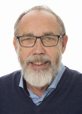 Portrett av avdelingsdirektør Magne Rugsveen ved Domkirkeodden.