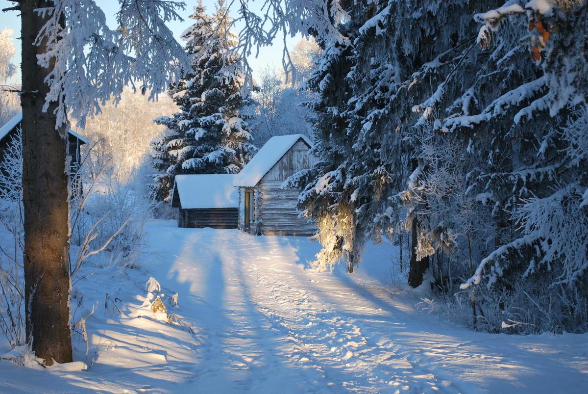 Migrasjonsmuseet, Gundersonstua, vinter