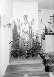 Kyrkointeriör, Katolska församlingen, Uppsala 1945