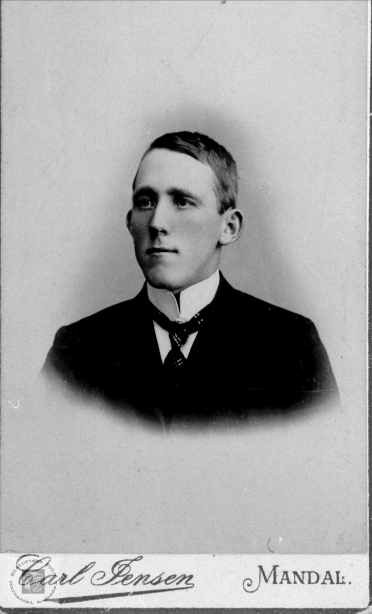 Portrett av Karl Gustav Skjævesland, Øyslebø.