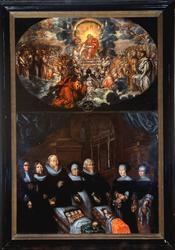 Løten kirke, epitafium,minnetavle over prest Even Baardsen 1