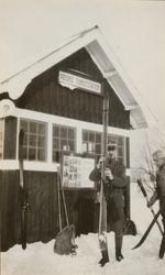 En utflykt till fjällen mars 1929.
