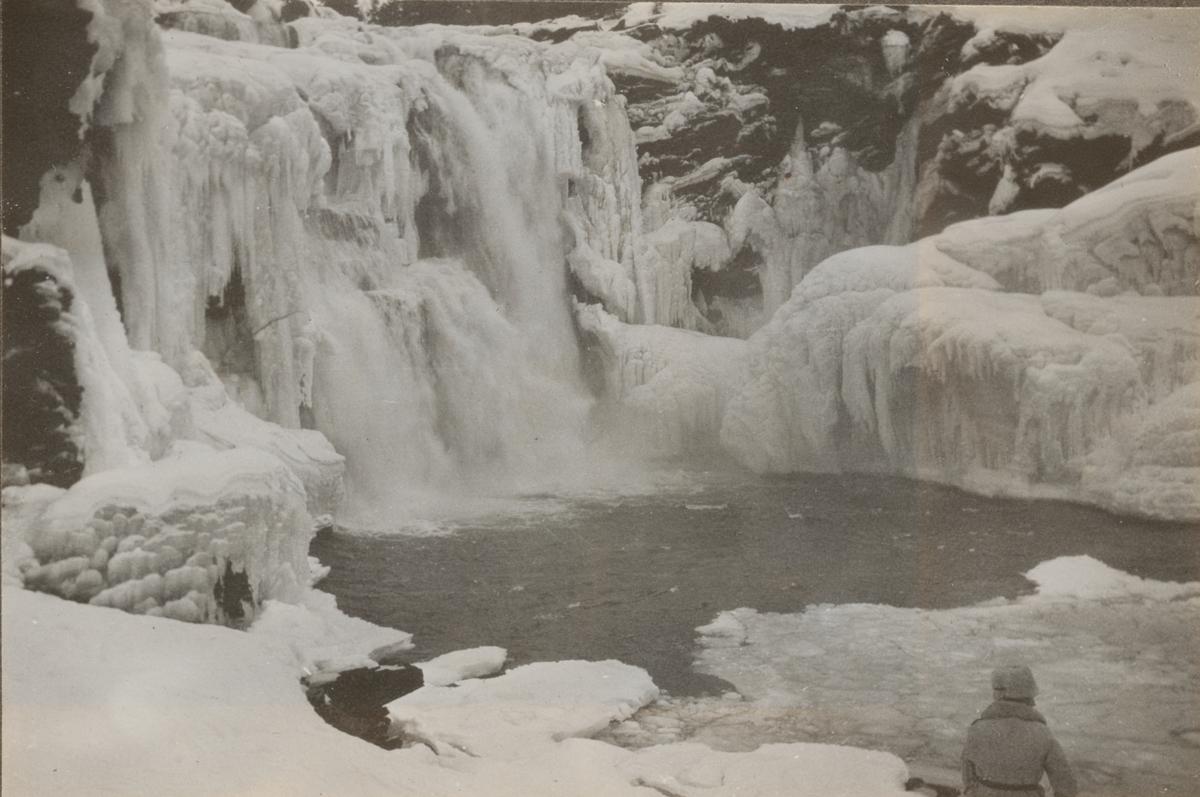 Vattenfall vid Tännforsen.