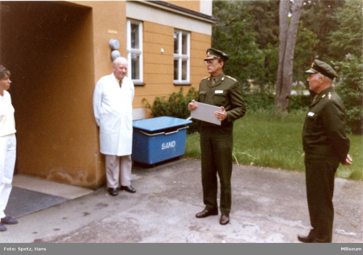 "Sjukhuset ""Wallisro"". Överste Lars Carlson, A 6."