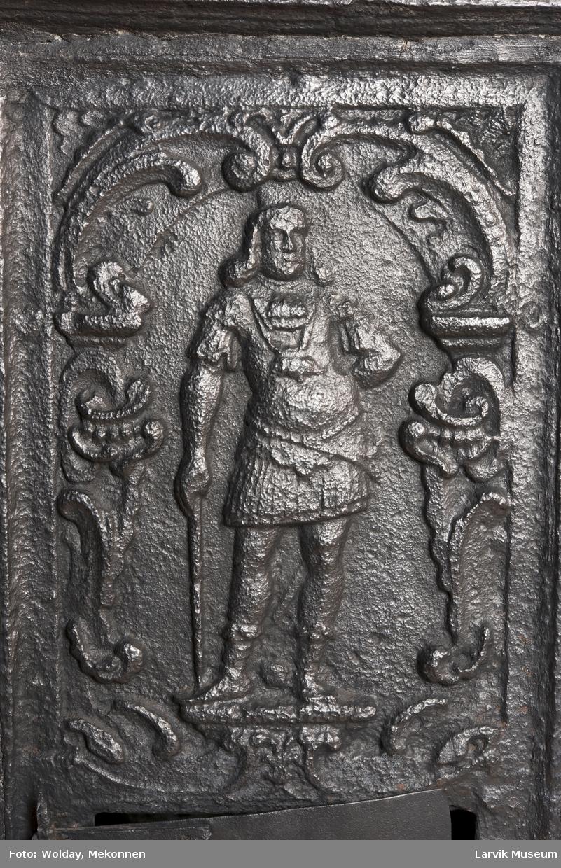 Langside: den norske løve, kortside: adelsmann