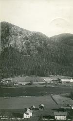Postkort Med landskapsbilde fra Hølera, Sør-Aurdal