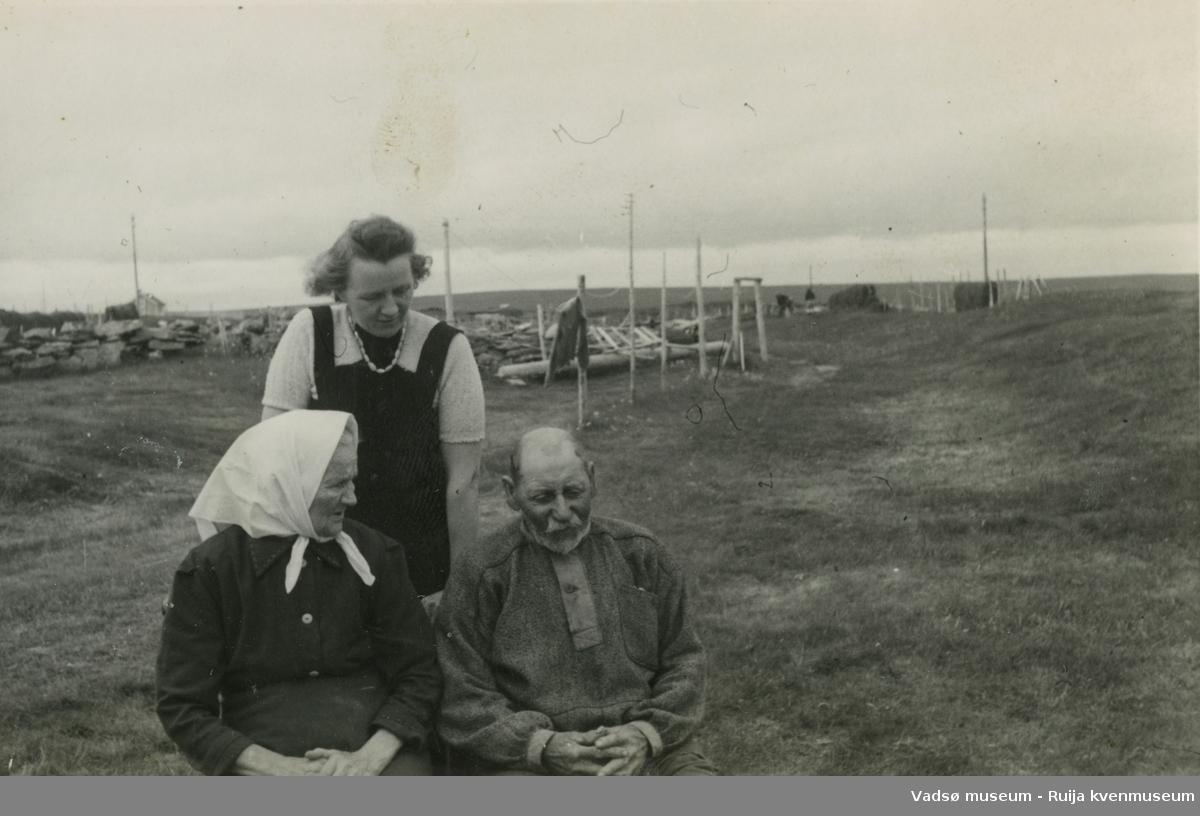 Jenny, Laura og Andreas Jørstad, Ekkerøy.