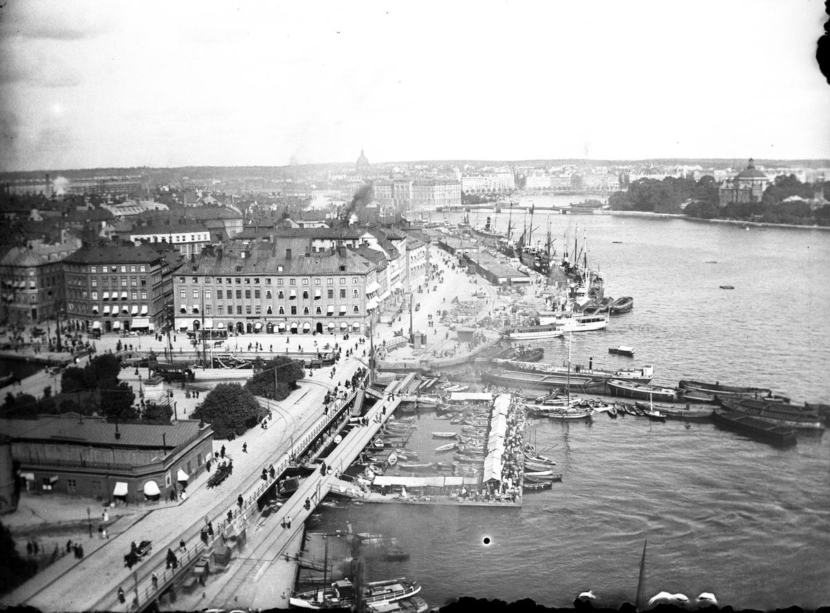 Stadsvy från Stockholm.