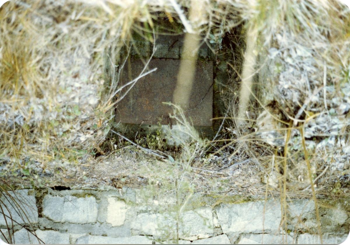 4 bilder av ei kolmile ved Muggedalen, Sør-Aurdal