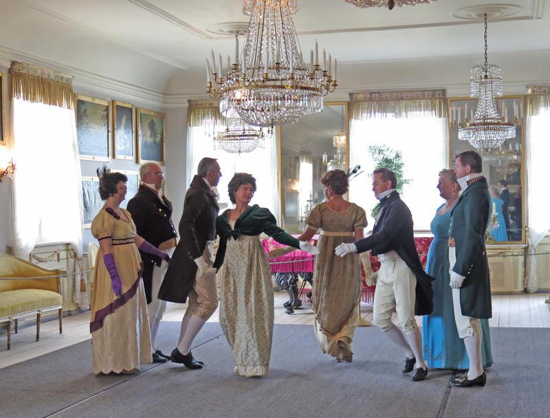 Historisk dans på Bogstad Gård