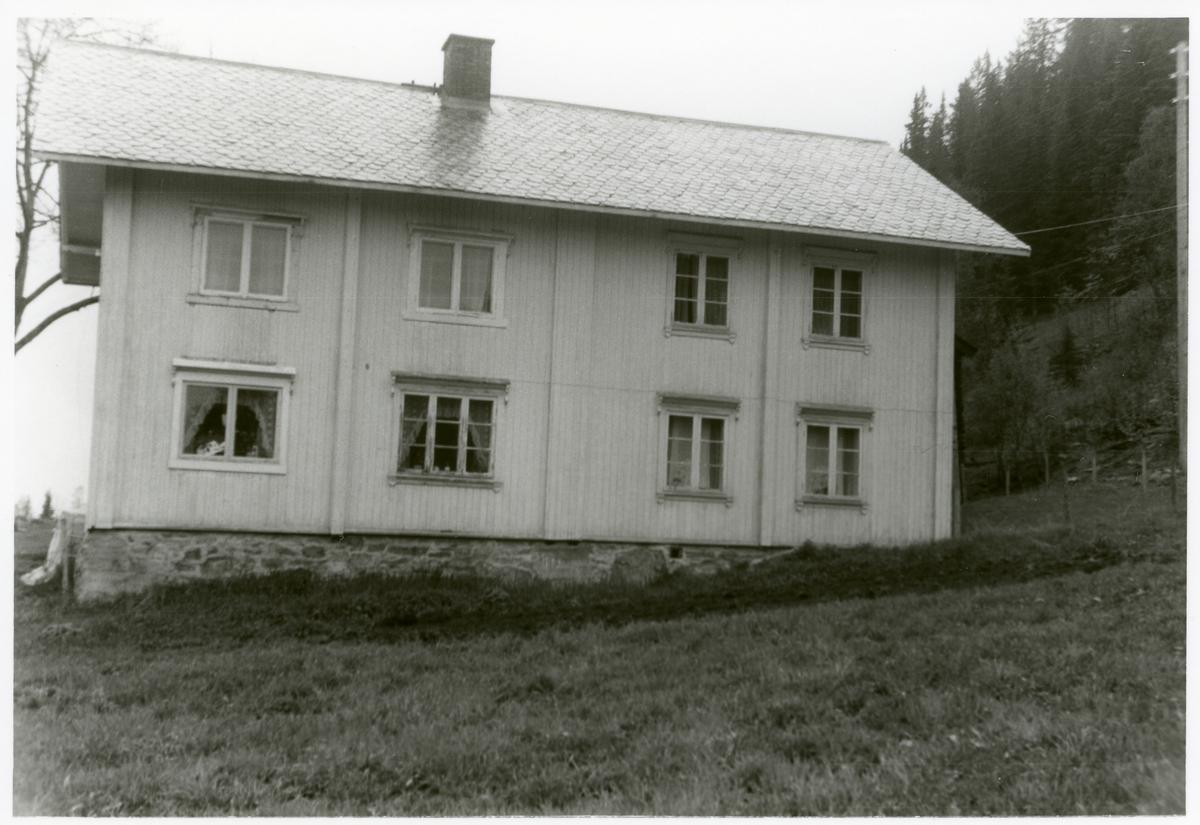 Våningshuset på Langøydgard, Leirskogen, Sør-Aurdal.