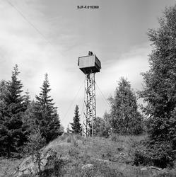 Utsiktstårnet ved brannvaktstasjonen på Flotsberget i Elveru
