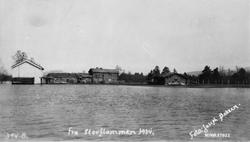 Punnibakk-vollen under storflommen 1934