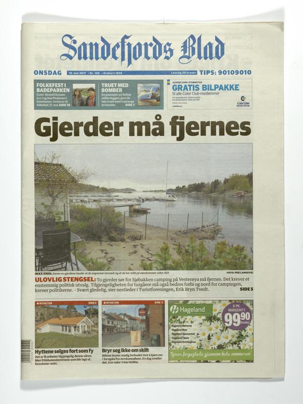 Sandefjord Blad (Foto/Photo)