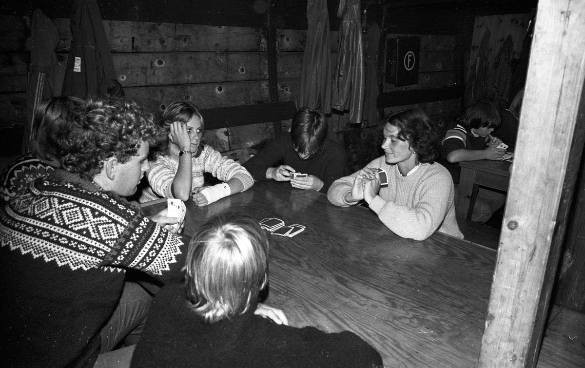 """Tur  for ungdom fra  Rælingen med SS """"SVANEN"""" i 1982"""