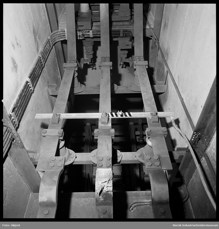 Kortslutning i 3 kV celler. Skinner/ isolator.