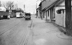 Strømsveien på Vålerenga.