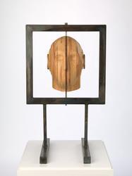 Strukturert hode [Skulptur]