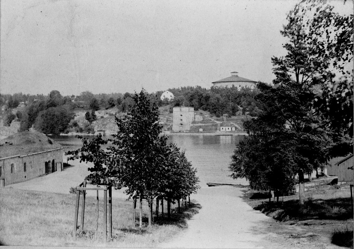 Fredriksborgs fästning i Vaxholm.