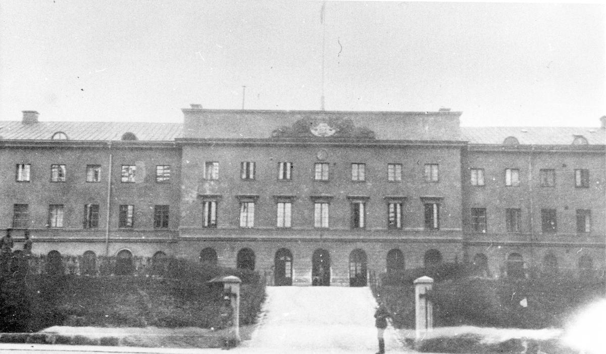 Kanslihuset vid Livregementet till häst K 1 på Storgatan i Stockholm.