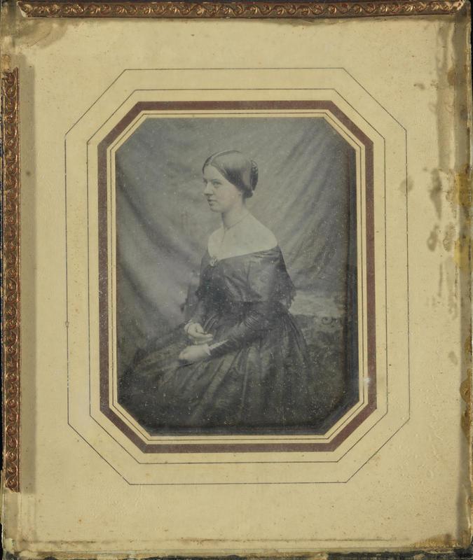 Portrett Betsy Gude 1849