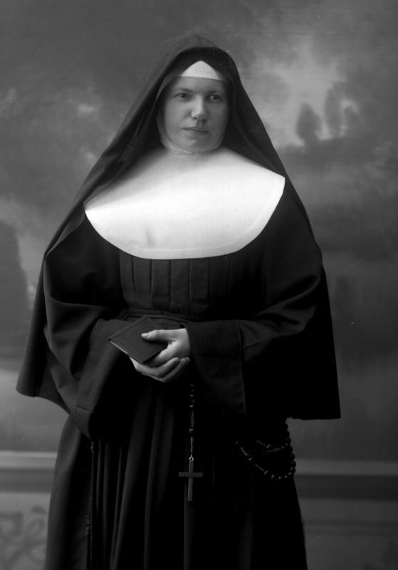 Portrett nonne