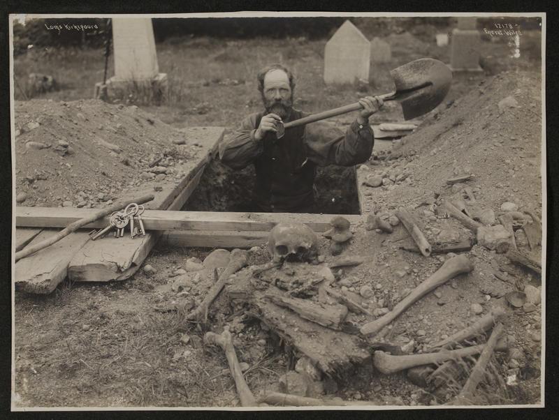 Graveren i Lom 1910