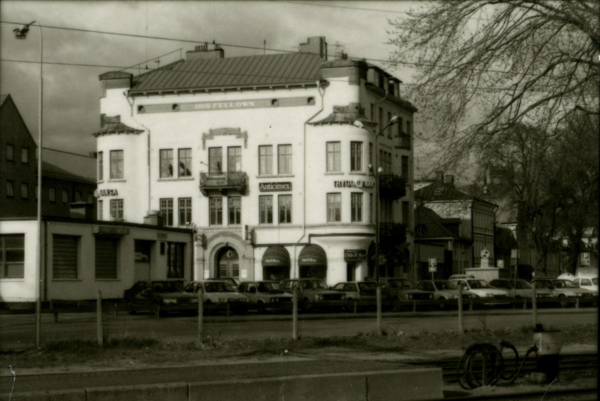 Småland, Kalmar, Kvarnholmen, kvarteret Fältskären 1 - Odd Fellow-huset.