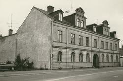 Byggnadsinventering juni 1974 Fasad mot Fiskaregatan
