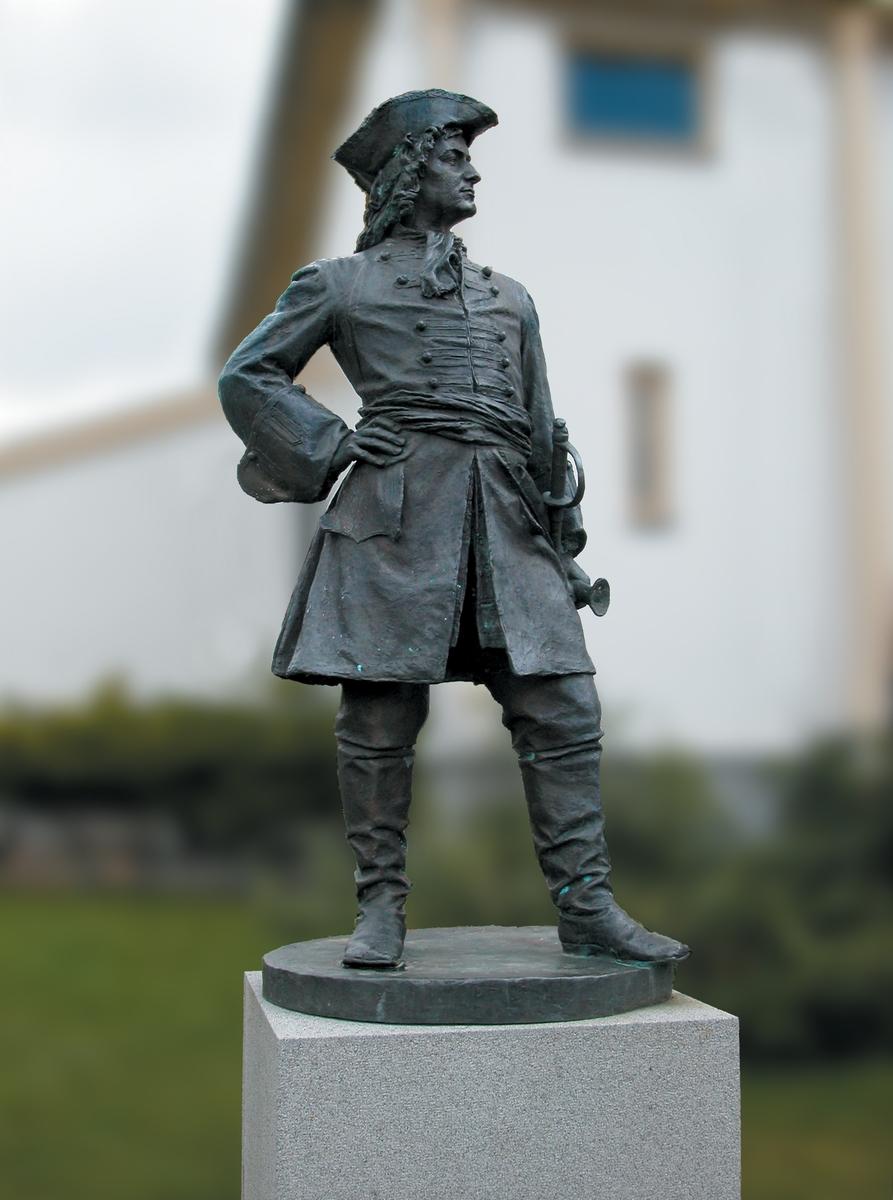 Peder Wessel Tordenskiold (1690-1720) [Statue]