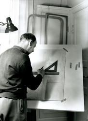 Nybrofabriken Fröseke. Foto 1961-09-04