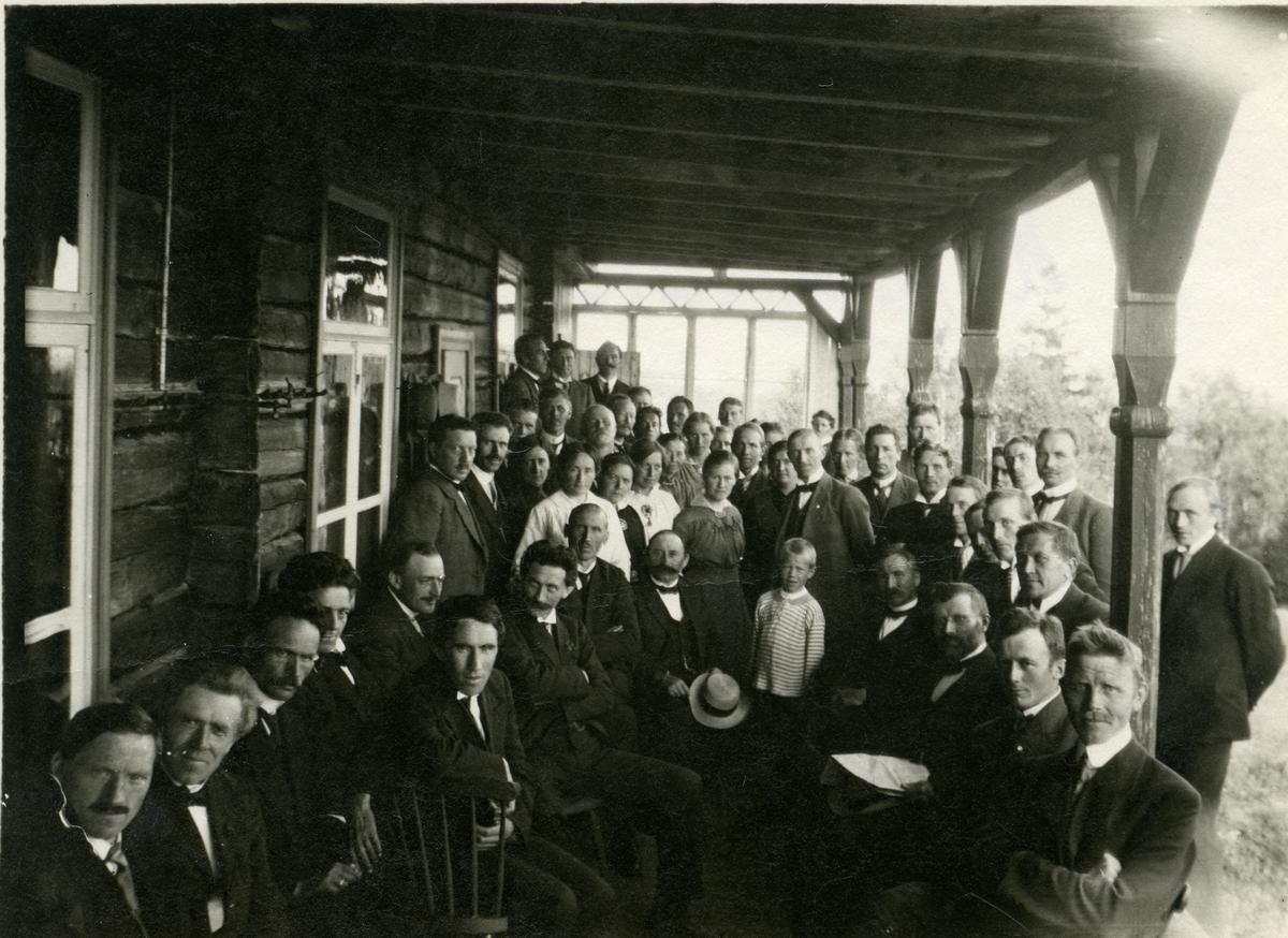 Høgskuleskeidet, 1917.