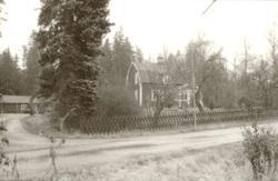 Besiktning av planerad plats för radiomast i Gadderås