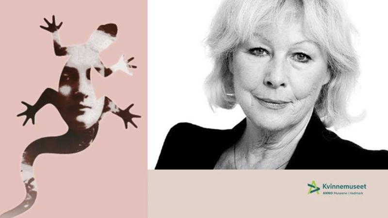 Lise Fjeldstad leser Dagny Juels tekster. Foto/Photo