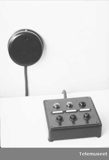 Bordkontakt for persontilkalling, Elektrisk Bureau.
