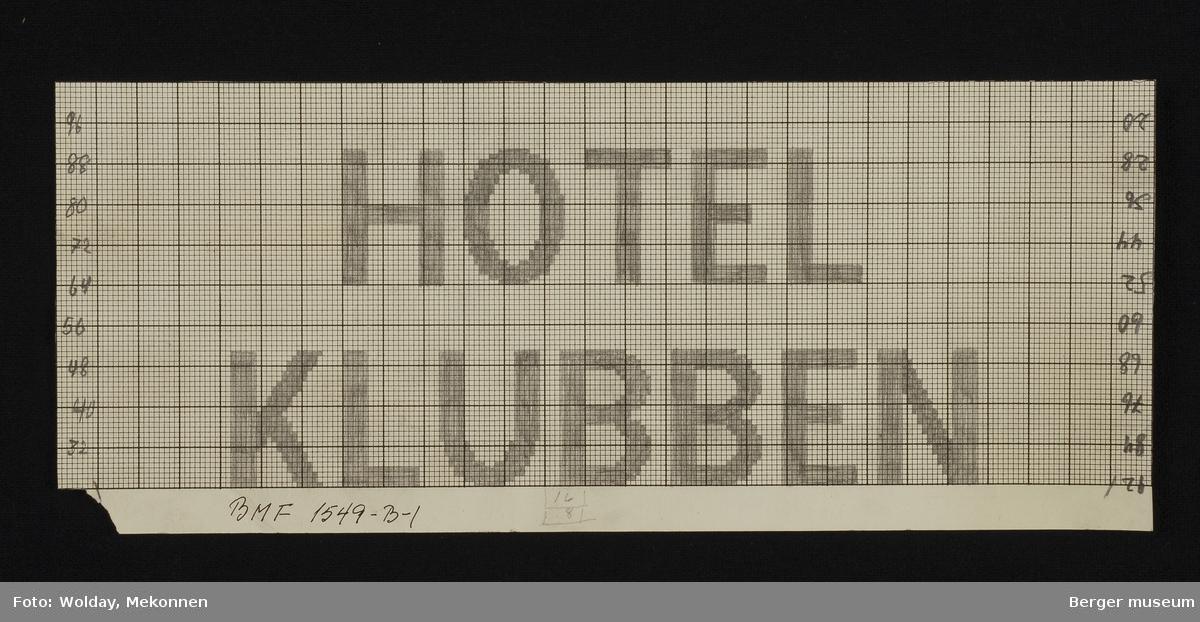 """""""HOTEL KLUBBEN"""""""