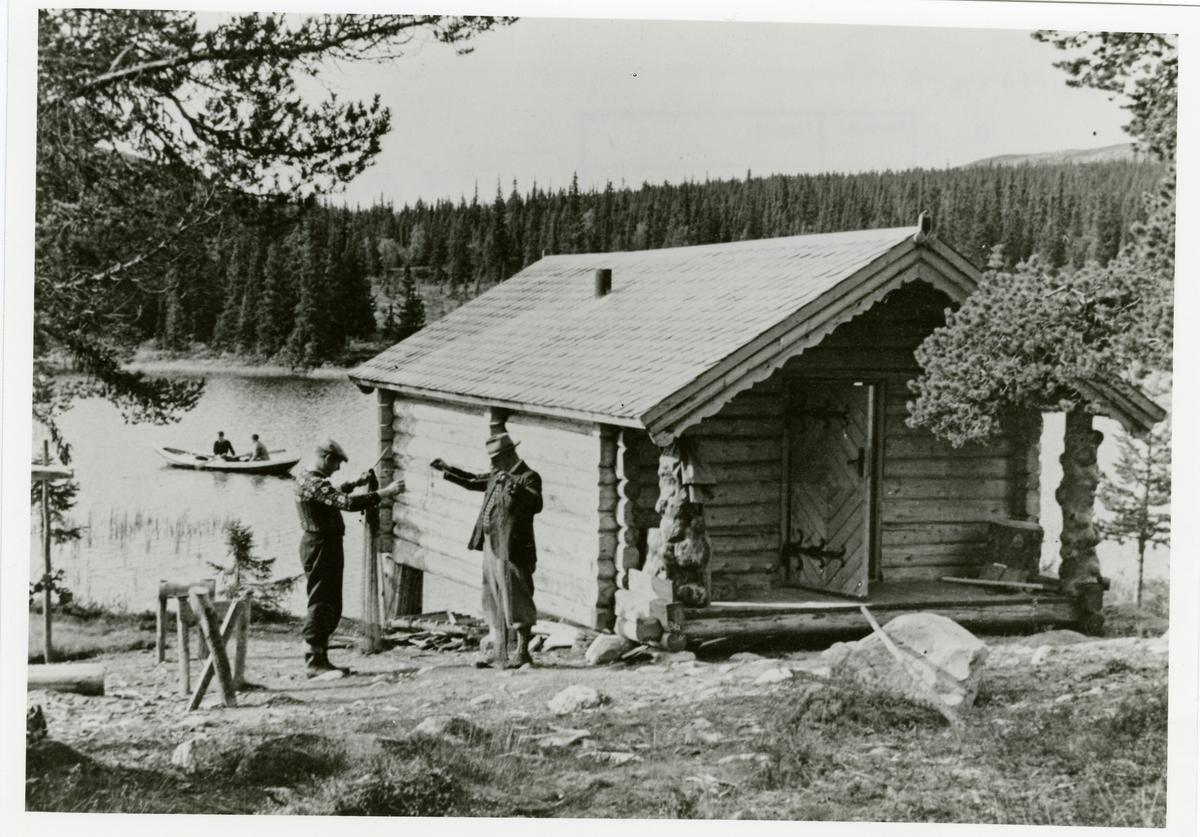 Østgårdhytta ved Høvren, Sør-Aurdal.