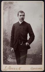 Portrett Chr. Vaaler.