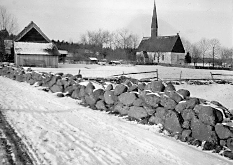 Bildtext: Västergötland.  Mölltorp, från söder.