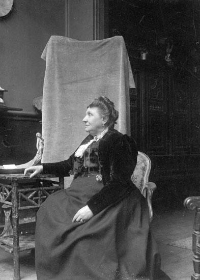 Sophia Elisab. Uddman f. Kjellberg. Agnes de Frumeries mor.Agnes de Frumeries samling, Danderyd.