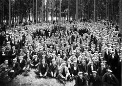 Sångarfesten. 1925