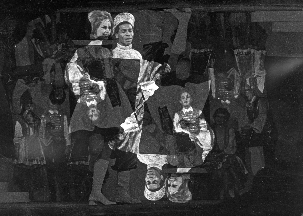 "Underhållning. ""Czardasfurstinna, Gefle Lyriska Teater 1965"
