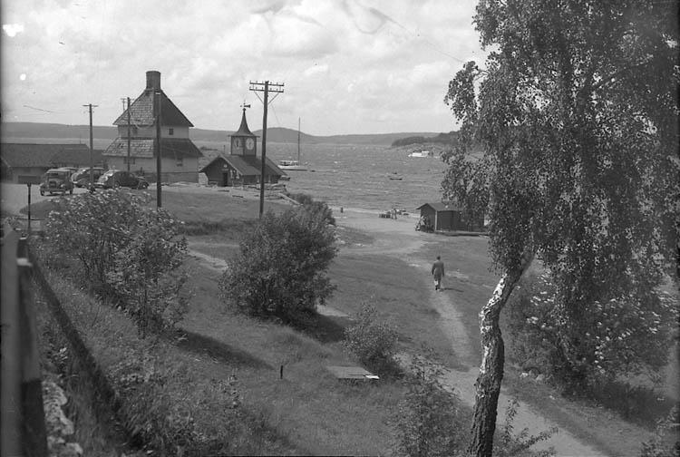 """Enligt Bengt Lundins noteringar: """"Lyckorna. Hamnområdet. Foto BL 1728""""."""