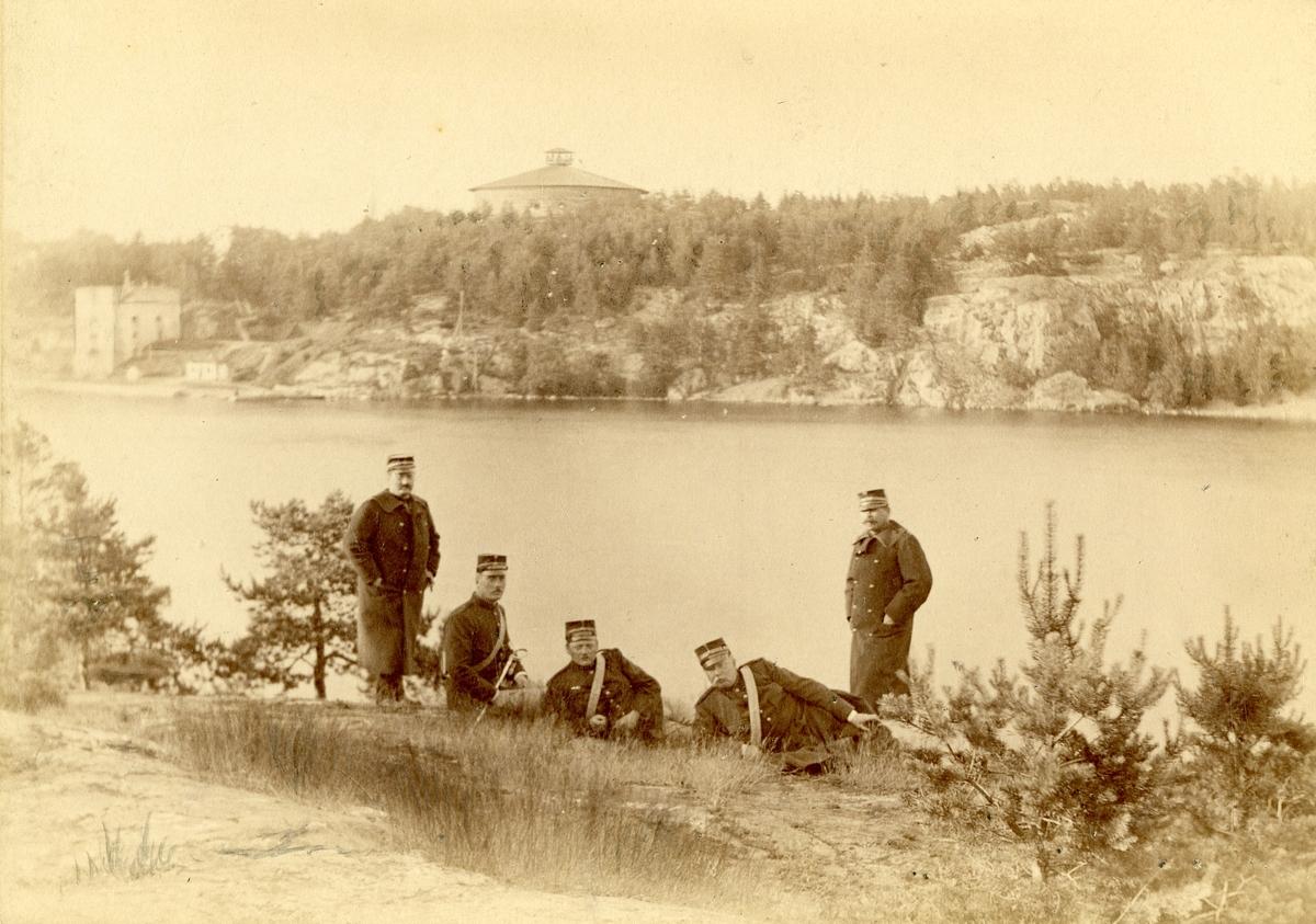Officerare från vaxholms grenadjärregemente I 26.