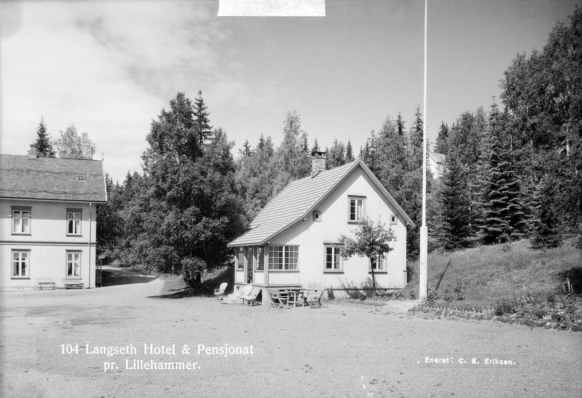 Langseth hotell og pensjonat ved Lillehammer.