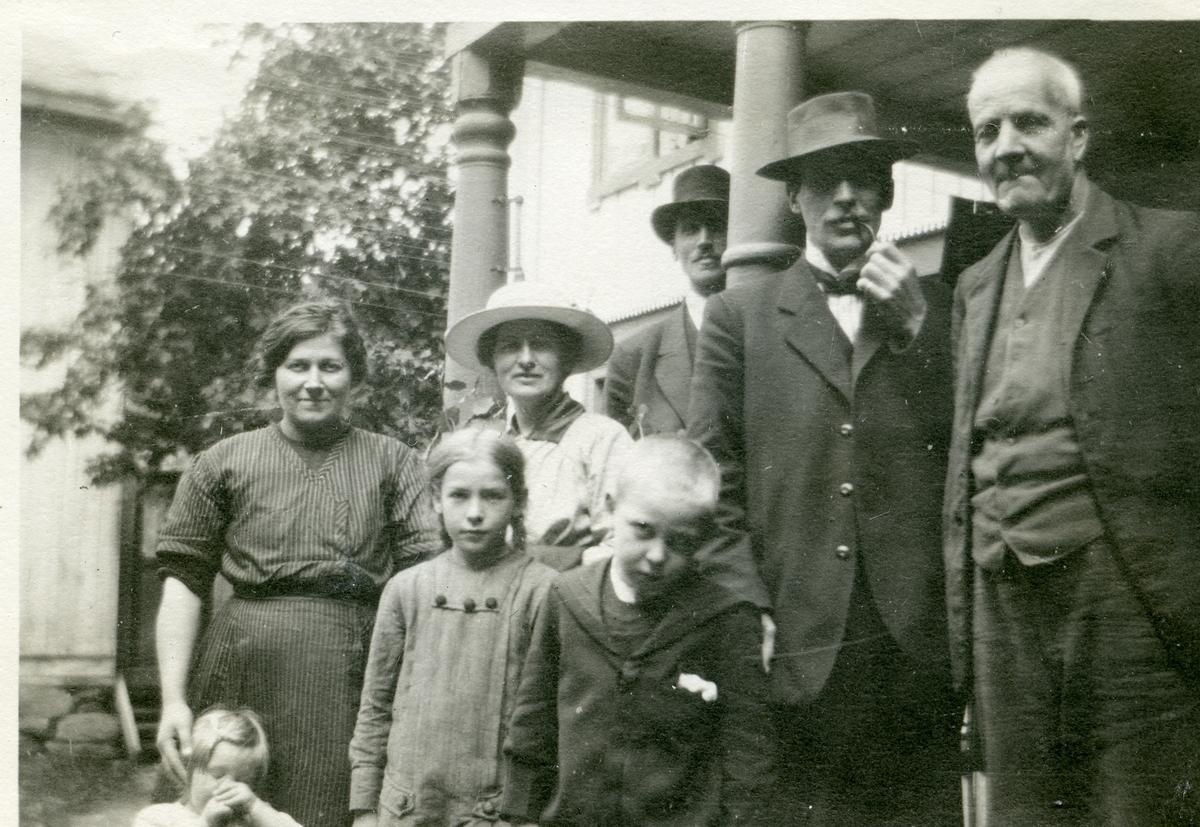 På Liffengren, ca. 1917.
