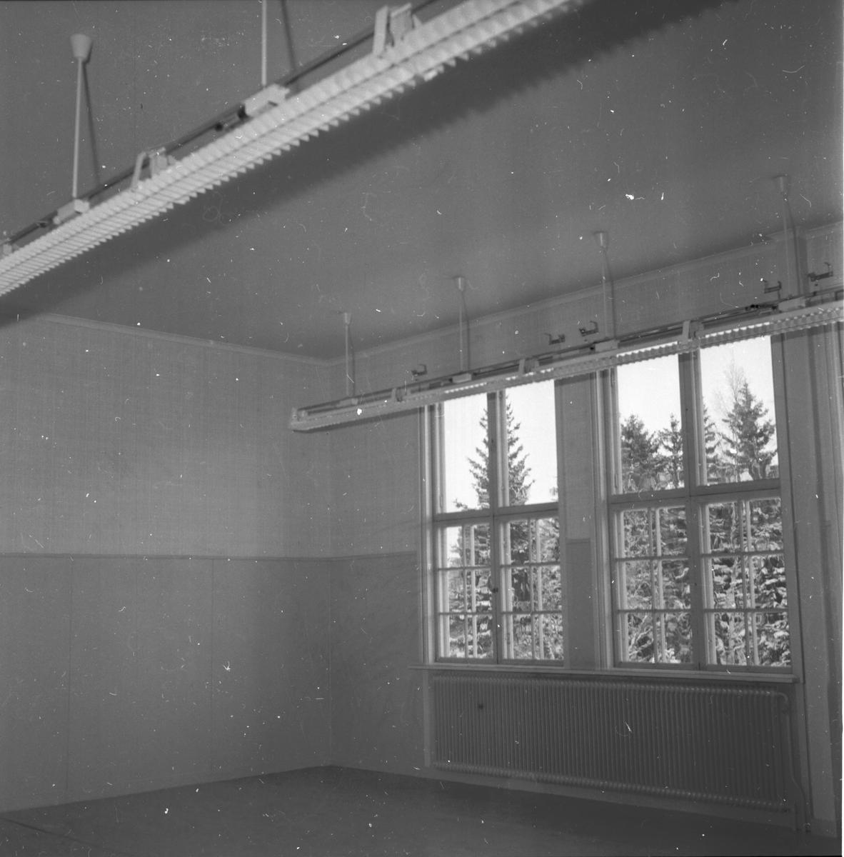 Västansjö skola. Kilafors 10/1 1958