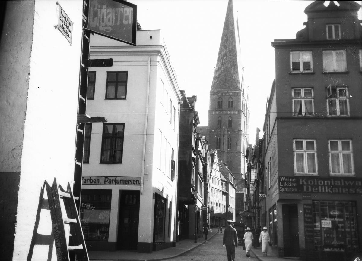 Marienkirche från norr.