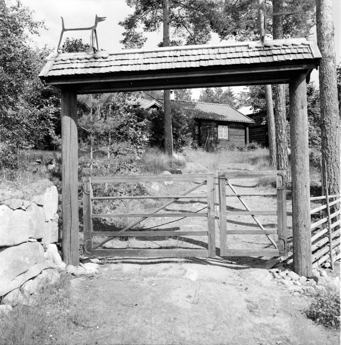 Tomterna, Orgårds, Strömboms, 5 Juli 1962